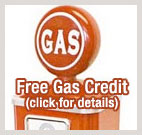 Free Gas Credit w/Reservation